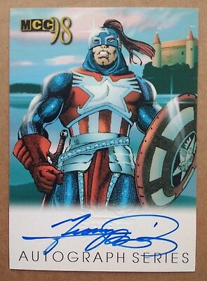 1998 Marvel Creators Collection / MCC98 Autograph card - Signed by George Perez