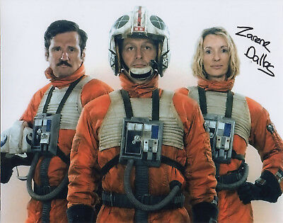 Signed 10x8 - STAR WARS Rogue One - Zarene Dallas as X-Wing Pilot