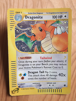 Dragonite  9/165 Holo* - Expedition (eng) (a1087)