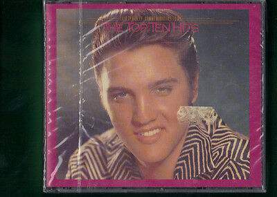 Elvis Presley - The Top Ten Hits Box Doppio  Cd Nuovo Sigillato