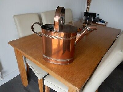 Old Vintage Victorian Antique Copper Watering Can