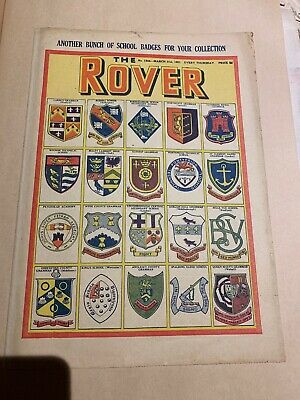 The Rover Comic March 31st 1951