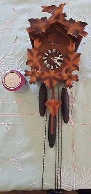 Vintage German Cuckoo Clock not working condition purchase in Germany 1956