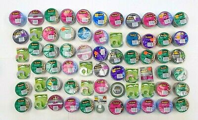 3M Scotch Duct Tape - Assorted - Lot of 67 Tapes