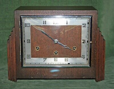 Lovely Art Deco Style 'Westminster Chime' Mantle Clock