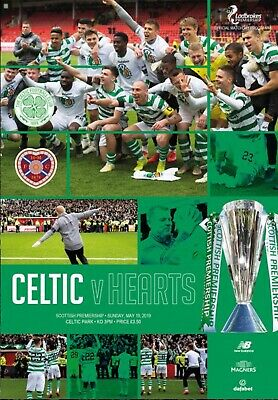 PRE-ORDER Celtic v Heart of Midlothian 2018/19 new football programme