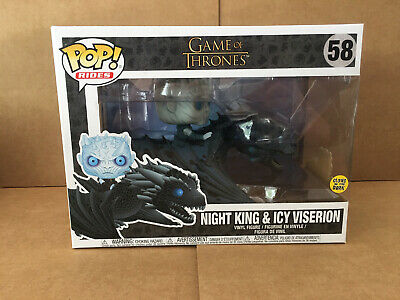 Pop Rides Game Of Thrones Night King & Icy Viserion #58 Vinyl Figure Funko