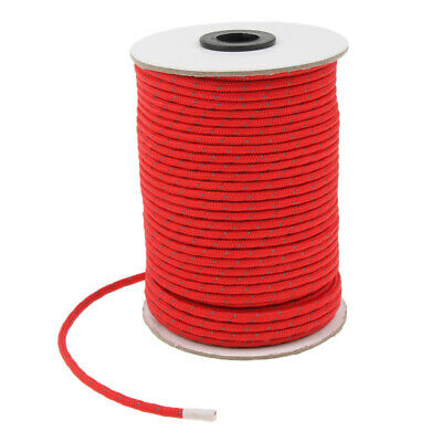 50mx4mm reflektierende Zelt Guyline Guy Line Seil Schnur Outdoor Camping