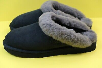 f69bc9b303c9d UGG Cluggette Genuine Shearling Slide Slipper in Black Size US 11 Brand New