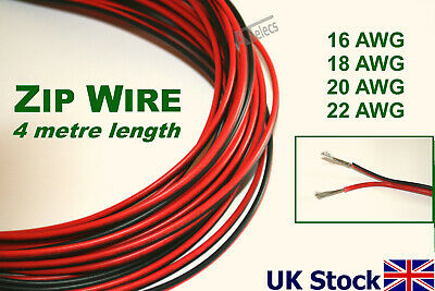 Electrical Wire Stranded UL2468 zip wire twin 2-core cable Copper/Tinned Copper