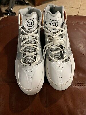 New Men's Warrior Lacrosse Second Degree 3.0 Cleats Size 10.5