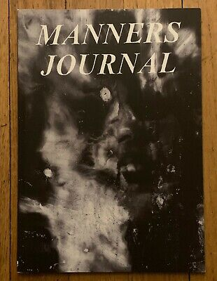 Manners Journal 2 Mark McCoy Youth Attack Das Oath Charles Bronson hardcore punk