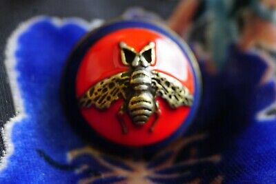 ❤💜100% Gucci button 1 pieces  BEE 24 mm 1 inch Metal