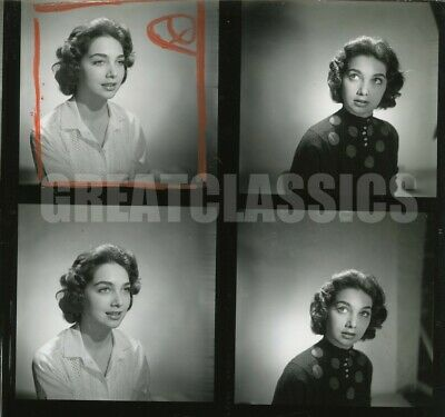 Suzanne Pleshette Decoy 1958 Young Beauty Contact Sheet Photograph Peter Basch