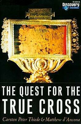 Quest Inscribed Headboard Christ True Cross Discovery Channel Helena Constantine