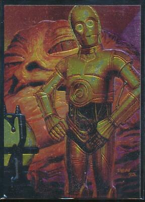1996 Star Wars Finest Trading Card #82 C-3PO