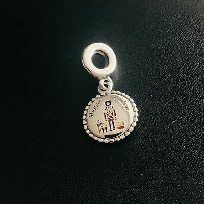! Authentic PANDORA Sterling Silver Nutcracker Dangle Charm ENG791169_93