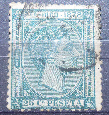 Puerto Rico: 1878 set of 1 used. SC #20 lot #20