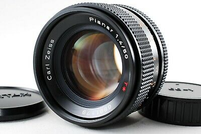 Excellent+++ Contax Carl Zeiss Planar T* 50mm F/1.4 MMJ MF Lens from Japan A652