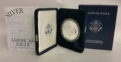 2003-W Silver American Eagle One Ounce Proof Coin US Mint With COA