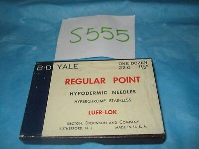 "BD Yale Hypodermic Needle 22G X 1 1/2"" Pack of 5"