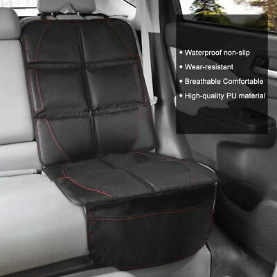 Waterproof Car Seat Leather Protector Non-Slip Child Safety Mat Cushion Cover