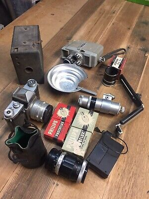 Assorted Old Camera Gear