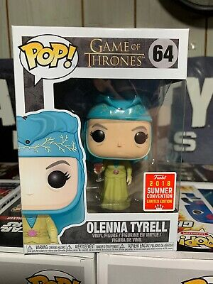 Funko POP! Game Of Thrones Olenna Tyrell Comic Con 2018 Shared Exclusive NEW!