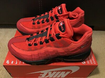 sports shoes 60c7d 87172 Nike AIR MAX 95 OG Men s sz 10 Habanero Red White AT2865-600 NOBOXTOP