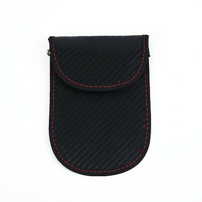 Anti-Theft Keyless Entry Car Key Fob RFID Signal Blocking Fashion Cage Pouch Bag