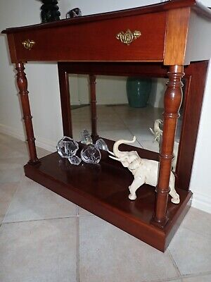 Solid mahogany Side table or Hall table
