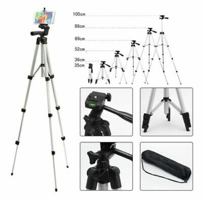 Telescopic Camera Tripod Stand Holder Mount +Carry Bag For Phone iPhone/Nikon BS