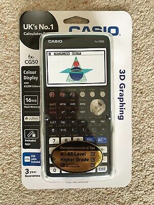 Brand new sealed Casio FX-CG50 Graphical Calculator