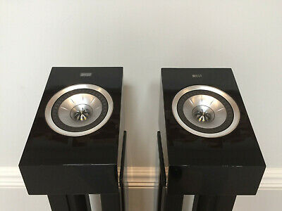 KEF R50 Dobly Atmos Speakers (Piano Black) - Excellent Condition