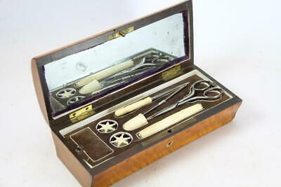 French Satinwood Sewing box