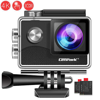 Action Cam Campark 4K Touch Screen Sports Kamera WiFi FHD 1080P 16MP Wasserdicht
