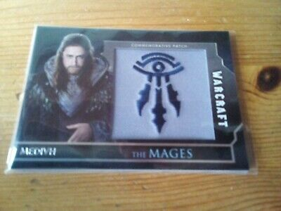 Topps Warcraft The Movie Commemorative Patch The Mages Of Medivh