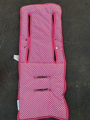 Pram liner universal Pink With White Dots