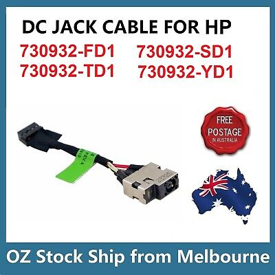 DC Power Jack Cable HP 730932-SD1 730932-YD1 730932-FD1 730932-TD1 732067-001