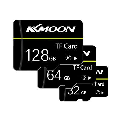 KKmoon 128GB Ultra Micro SD SDHC Mini TF Memory Card 80MBs UHSI Class 10 Black