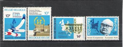 Belgique (1977) - Action Europeenne - 4V **mnh