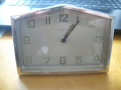 Stunning Art Deco Mantle /desk Clock  From A House Clearance Ex Antique Dealer