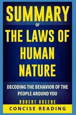 Summary of the Laws of Human Nature by Robert Greene 9781090204233 | Brand New