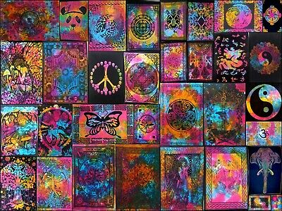 Poster Collage Multi Color Tapestry Small Wall Hanging Small Textile Fabulous