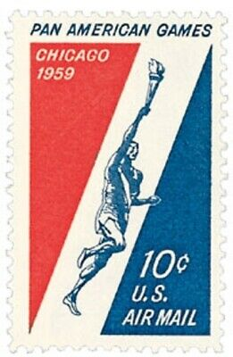 C56 - Pan-Am Games - US Mint Airmail Stamp