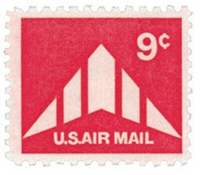 C77 - Delta Winged Plane - US Mint Airmail Stamp
