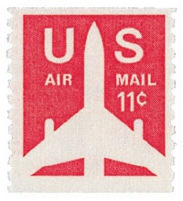 C82 - Silhouette of Jet - US Mint Airmail Stamp