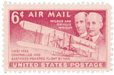 C45 - Wright Brothers - US Mint Airmail Stamp