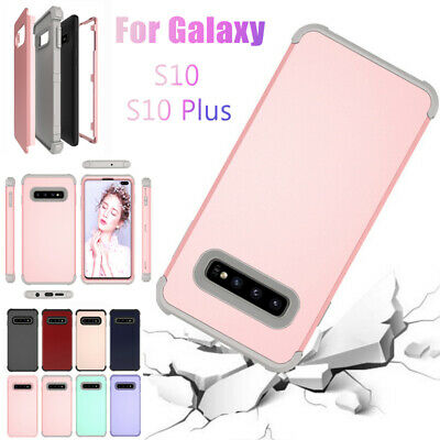 Shockproof Armor Rugged Rubber Hybrid Hard For Samsung Galaxy S9 S10 Plus Note 9