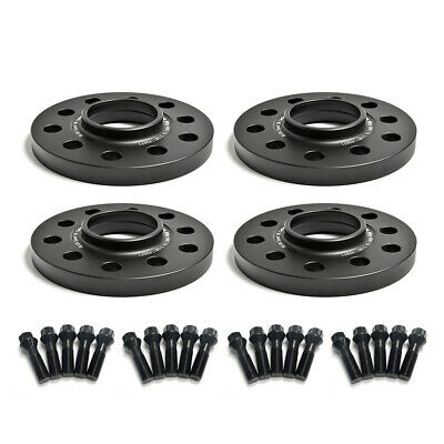 M12X1.5 BLACK BOLTS FITS BMW E39 5mm BLACK BIMECC ALLOY WHEEL SPACER 74.1